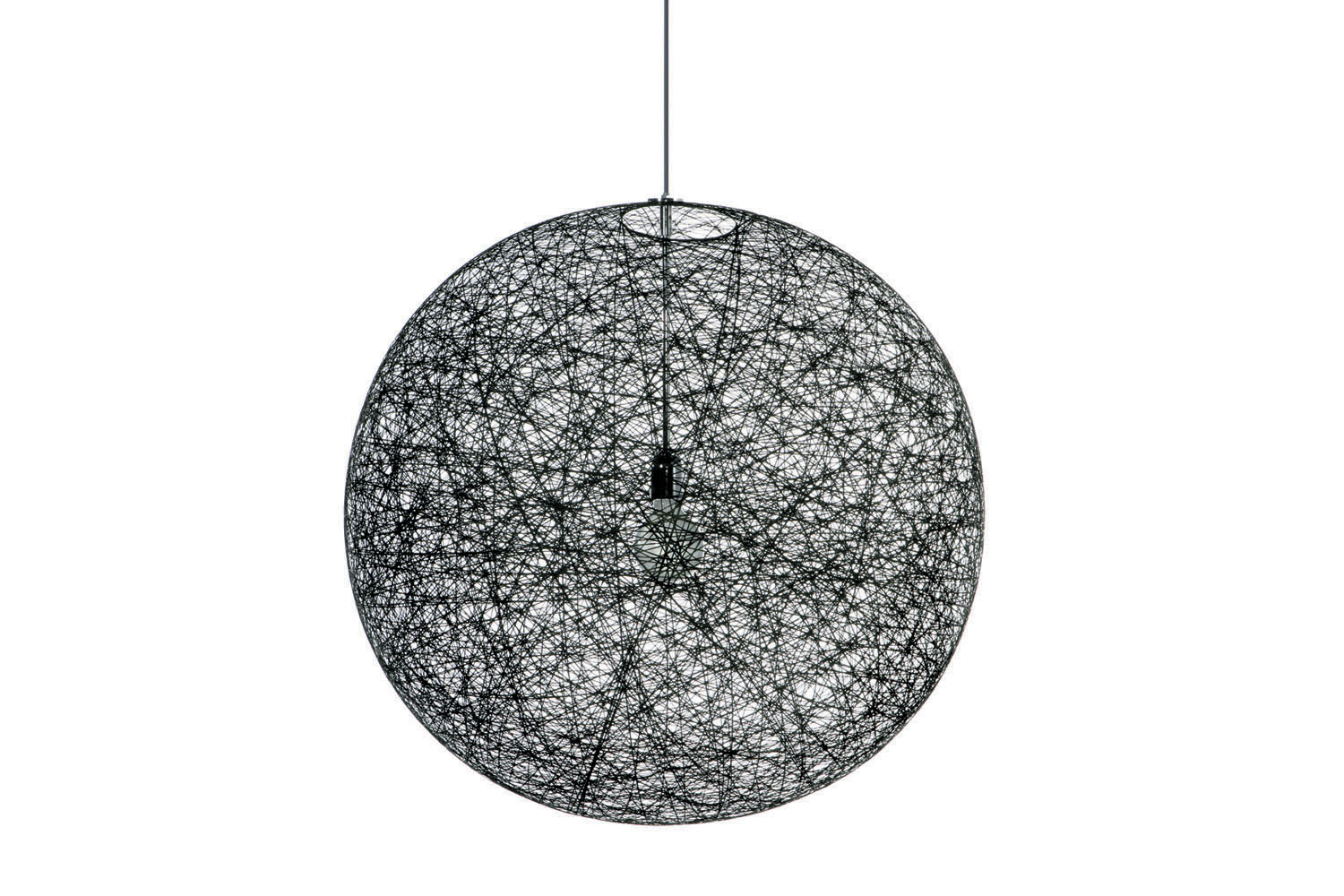 random light small black suspension lamp by bertjan pot for moooi space furniture. Black Bedroom Furniture Sets. Home Design Ideas