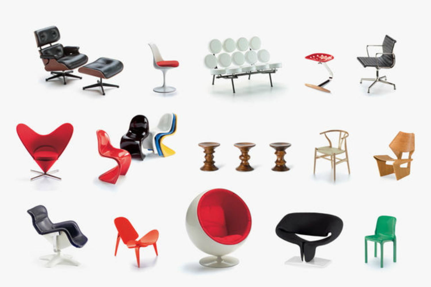 Vitra Museum Miniatures by Vitra Design Museum For