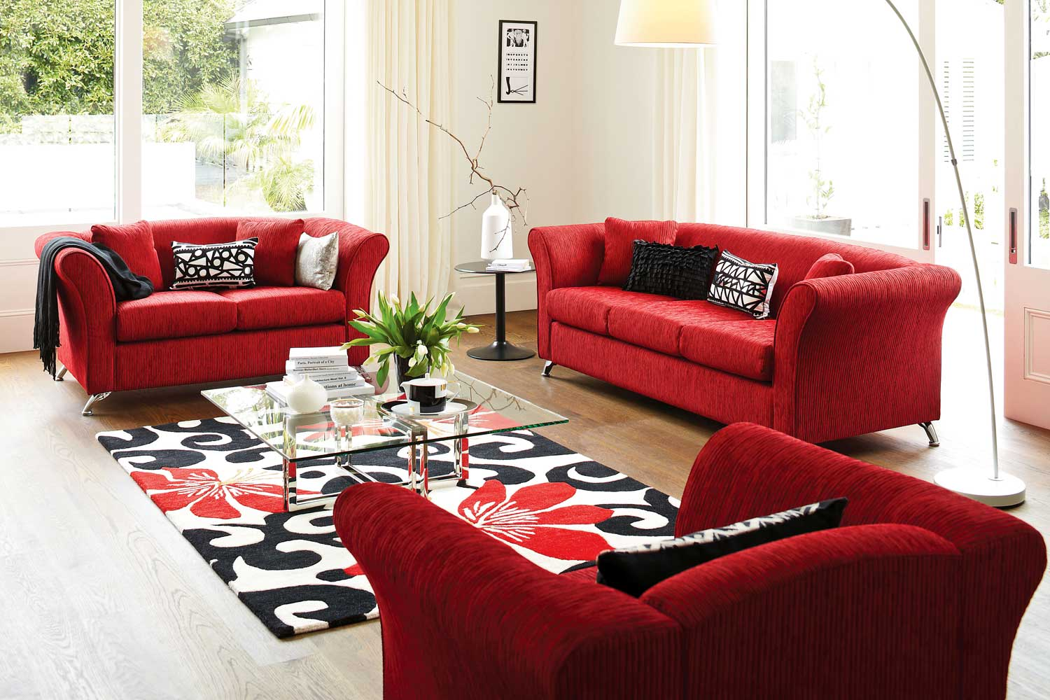 Tommy 3 Piece Lounge Suite by Furniture Haven | Harvey ...