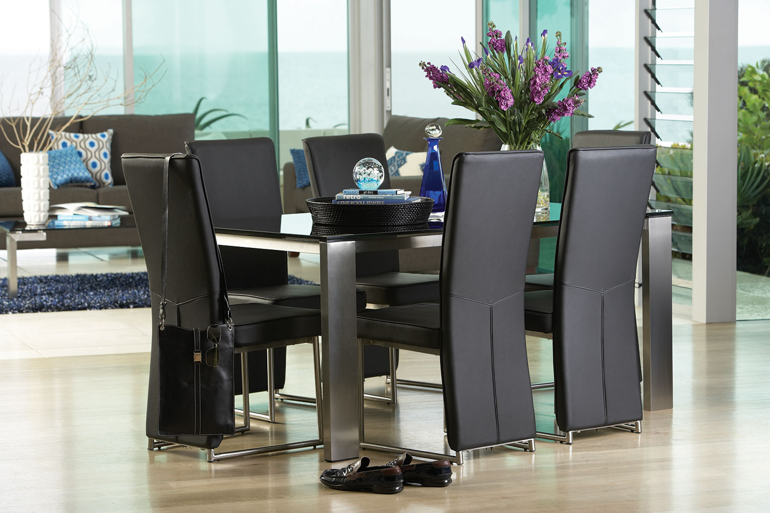 Longitude 7 Piece Dining Suite By Debonaire Furniture