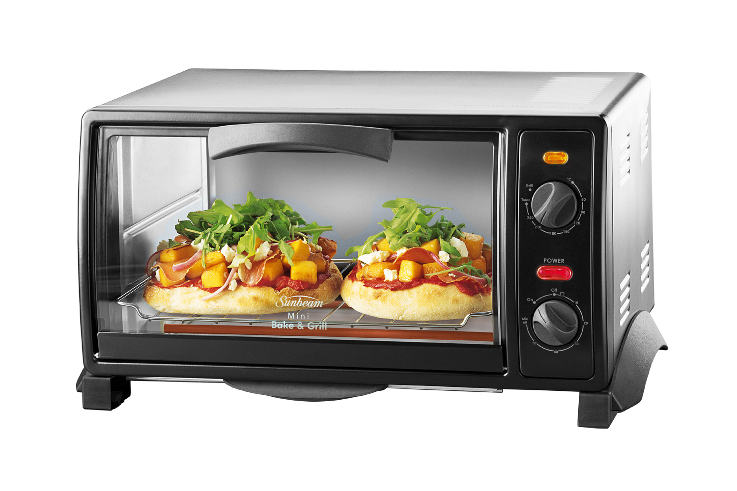 sunbeam mini bake grill oven harvey norman new zealand. Black Bedroom Furniture Sets. Home Design Ideas