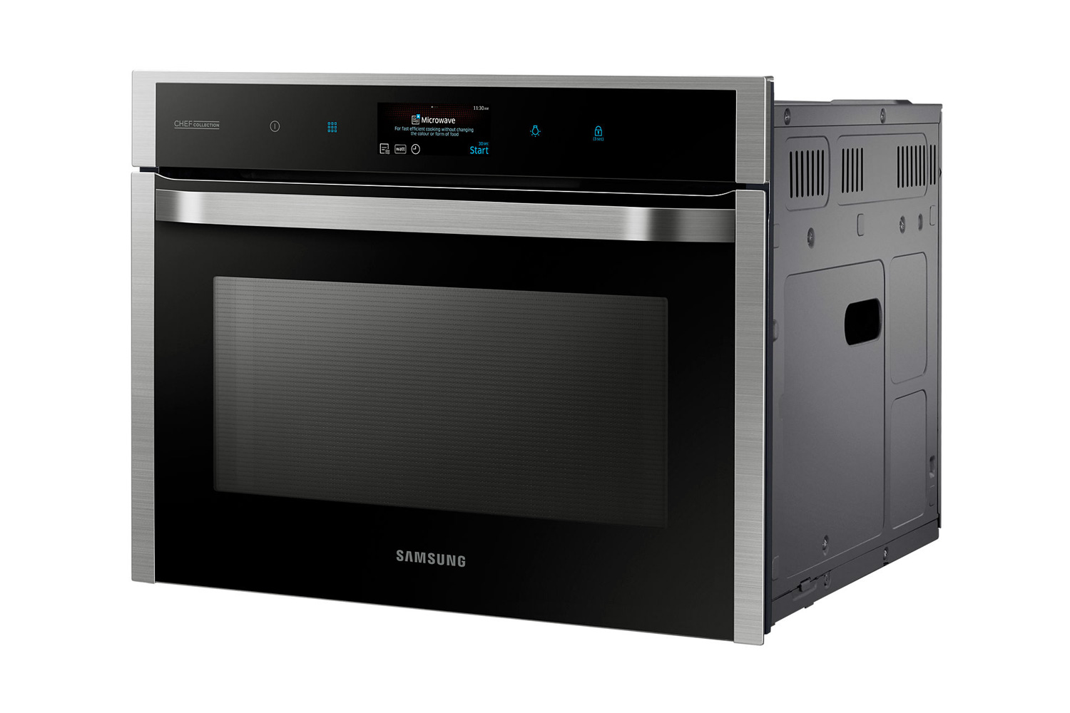 Built in ovens compact built in ovens for Small built in microwave oven