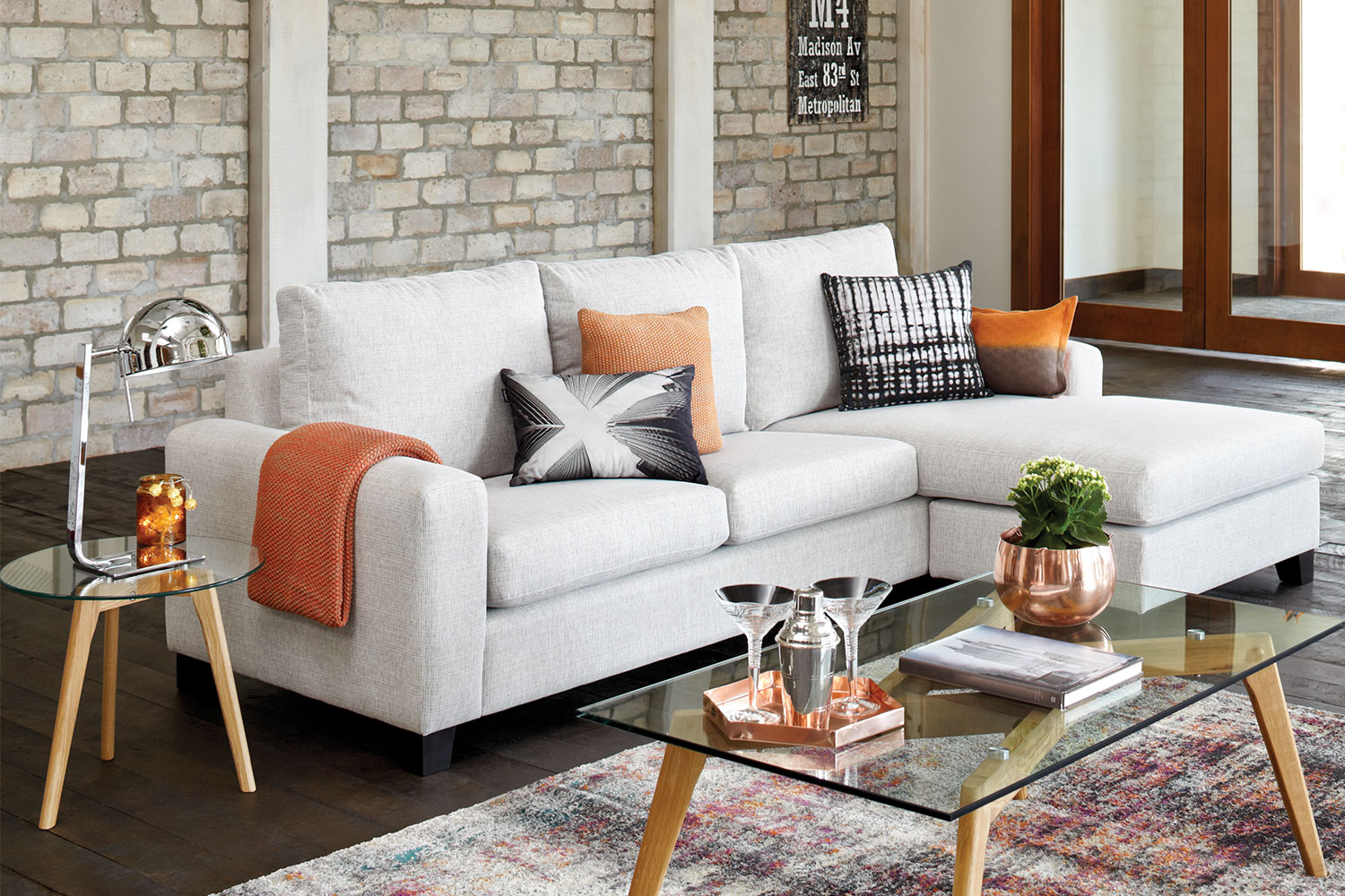Sofa Lounger Pictures To Pin On Pinterest - Central 3 5 seater fabric sofa with chaise by evan john philp new house pinterest fabric sofa and house