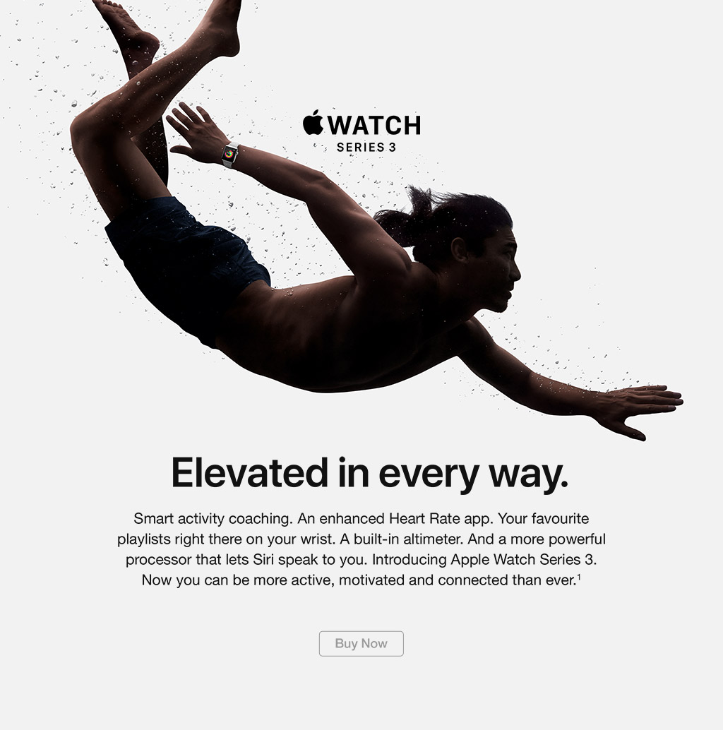 Apple Watch Series 3 buy now
