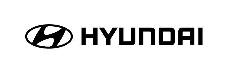 Hyundai Logo Hor Black Rgb