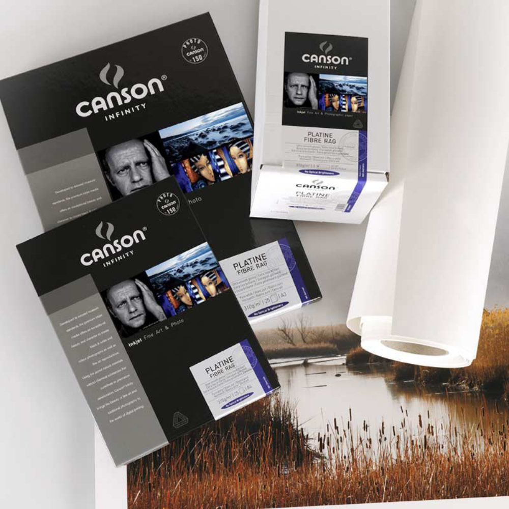 14 Canson infinity baryta photographique 310gsm