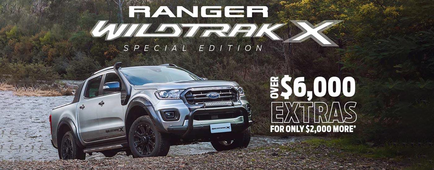 Ranger Wildtrak X Special Edition