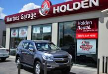 Martins Garage Holden
