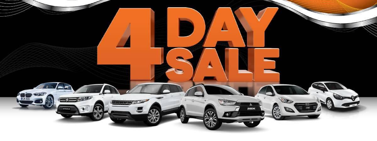 Darwin Motor Group 4 Day Sale