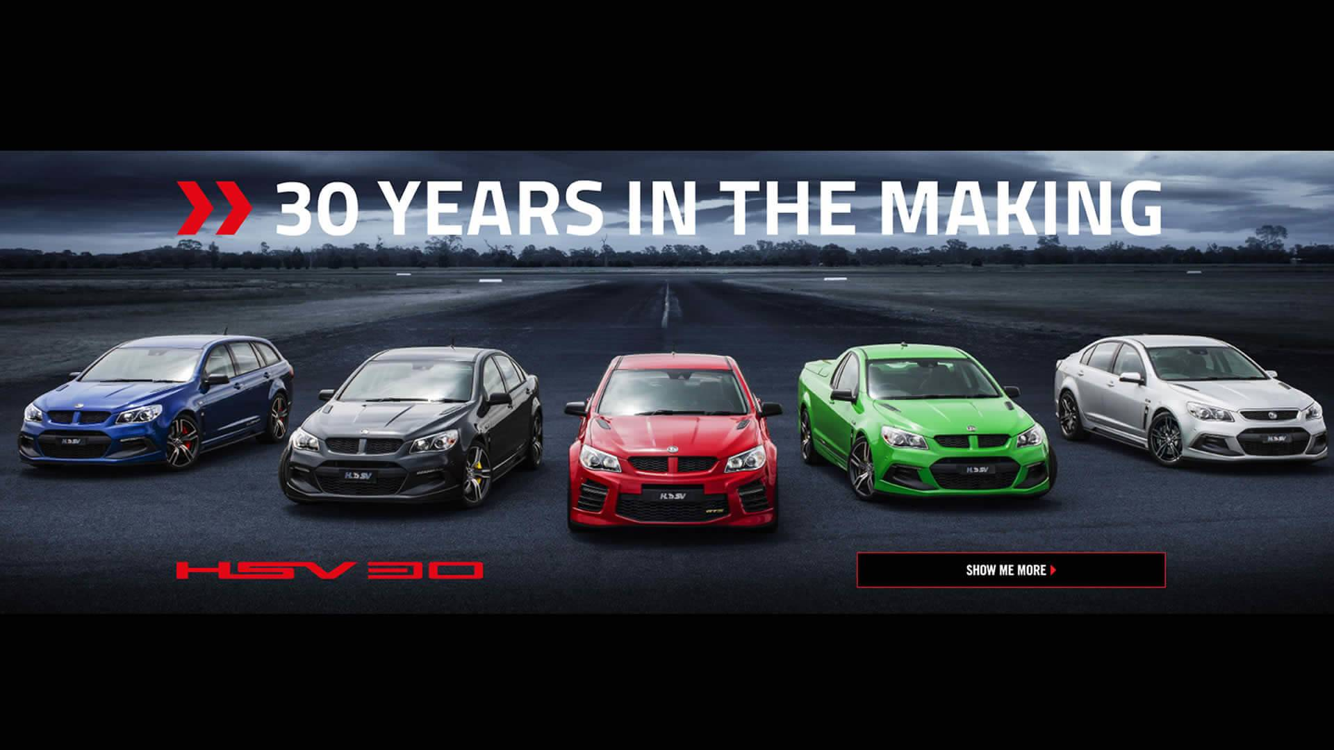 HSV TEMPLATE 30 YEARS IN THE MAKING