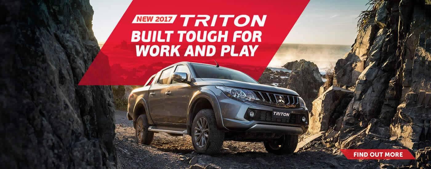 Mitsubishi Factory Triton 2017