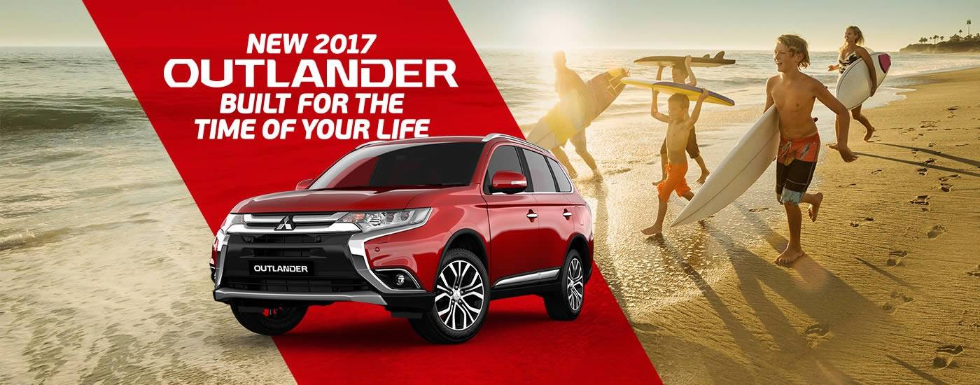 New 2017 Outlander At Mitsubishi Dealers