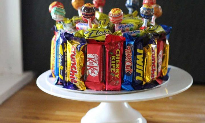 Easy lolly birthday cake recipe - Kidspot