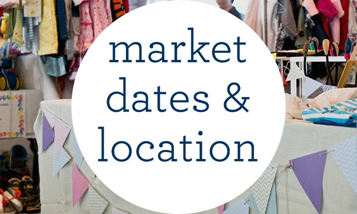 Market Dates and Locations
