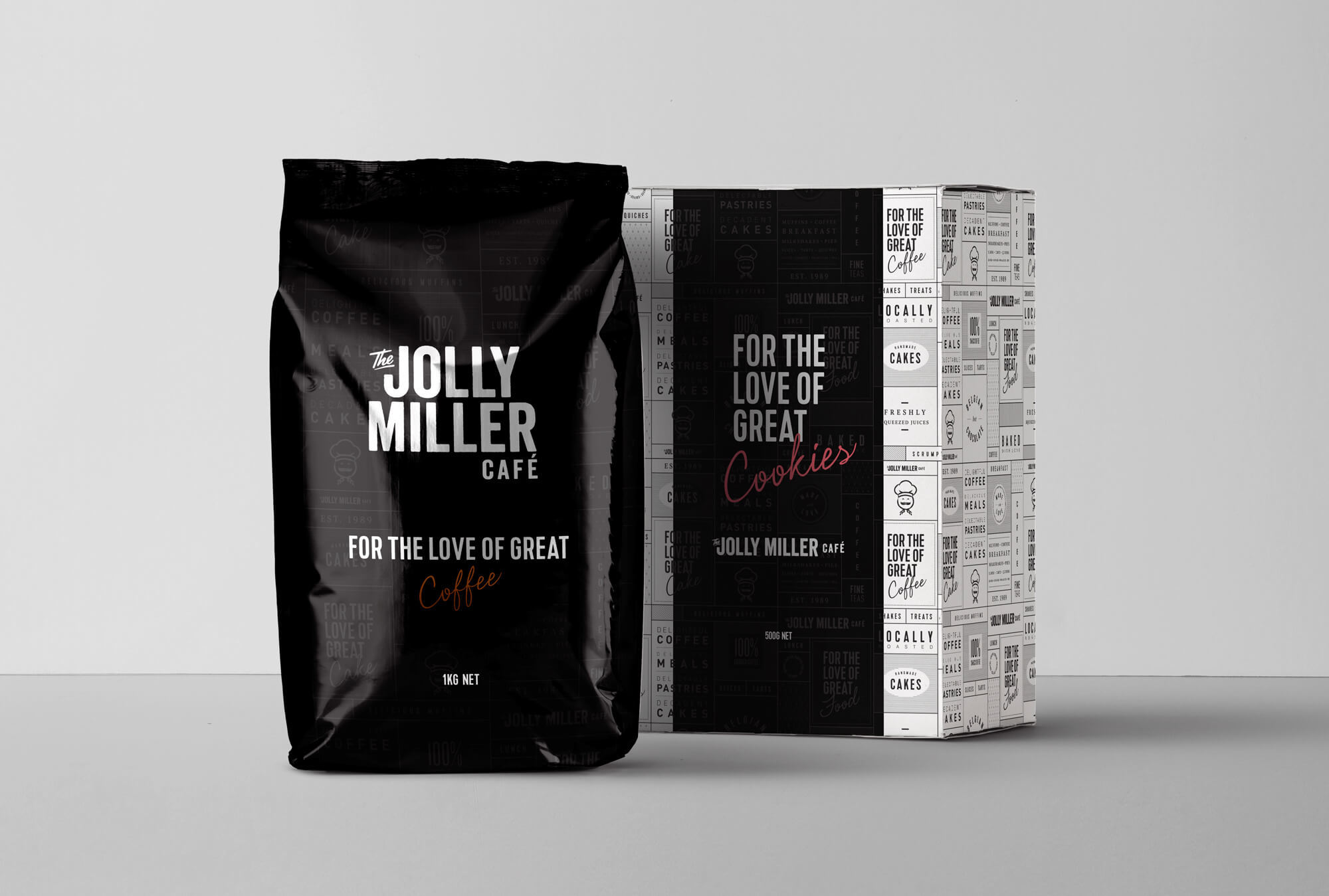 Jm  Coffee Bag  Mockup