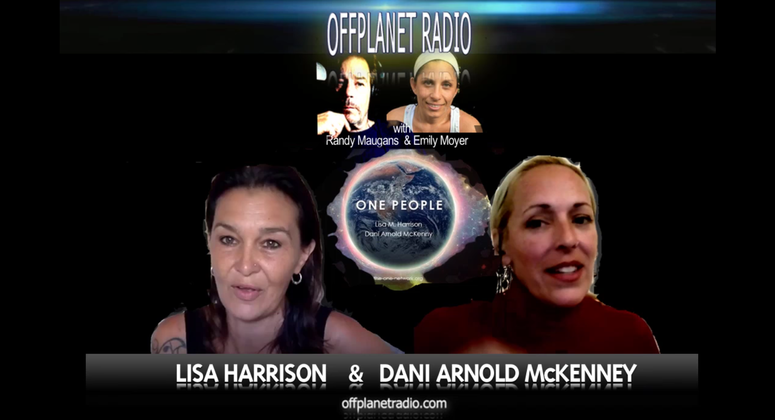 Lisa and Dani – Guests on Off Planet Radio