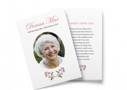 funeral booklet printing sydney