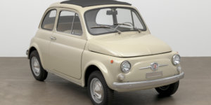 Iconic Fiat 500 Now On Display at MoMA