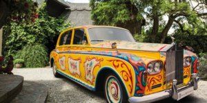 This is the Rolls Royce that Indulged Lennon's Dream of Being an Eccentric Millionaire
