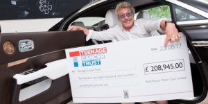 Sale of Rolls Royce Wraith Designed by The Who Frontman Benefits Teenage Cancer Trust