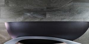 Make Bath Time Fun Again with this LED-Lit La Baignoire Carbon Fibre Luxury Tub