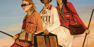 "[GALLERY]: Preview Gucci's Visually Stunning ""Utopian Fantasy"" Spring/Summer 2018 Ad Campaign"
