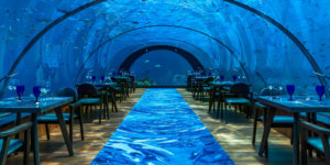 Maldives' All-Glass Undersea Restaurant And Yoga Venue