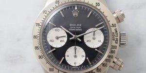 Unique Vintage White Gold Rolex Daytona Makes Phillips Auction Debut
