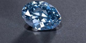 'The Okavango Blue' is a rare 20-carat blue diamond discovered in Botswana