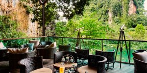 Retreat and relax at the Banjaran Sky Bar