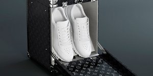 The Louis Vuitton Sneaker Trunk and Box is a Throne For Shoes