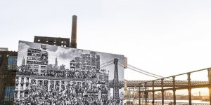 The Chronicles of New York: An Astonishing 53-Foot High Mural By JR