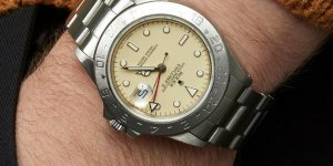 Cream dial Rolex GMT Explorer II circa 1987 on offer