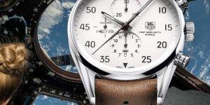 Elon Musk's TAG Heuer Carrera Calibre 1887 Space X chronograph