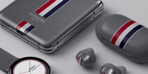 Samsung Presents The Sophisticated Galaxy Z Flip Thom Browne Edition
