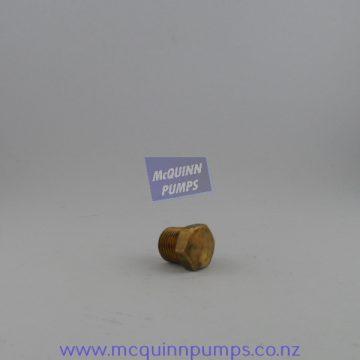 Brass Plug 6 mm