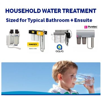 Household Water Treatment 1+ Bathrooms