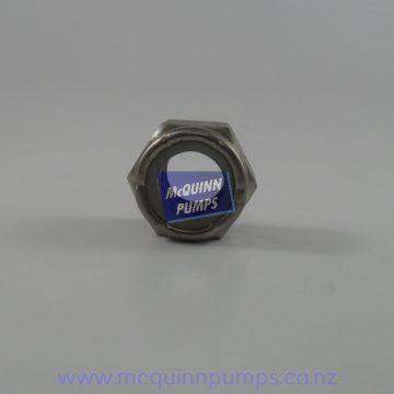 S/S Nyloc Locknut 5/8inch BSW 316