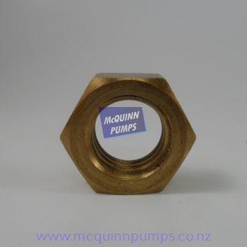 Plunger Rod Nut Brass