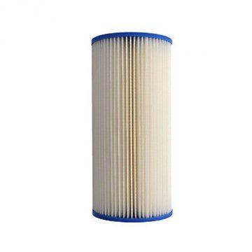 Filter Cartridge 20micron 10inch Jumbo Poly Pleated