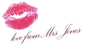 with Love From Mrs Jones