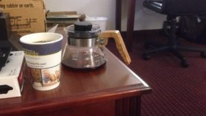 coffee at dawn