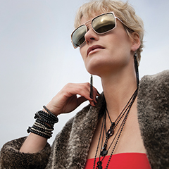 Contemporary Jewellery Model Commercial Photography Nadine Cagney