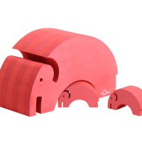 TOYS_Bobles_mor_barn_elefant_elephant_red_PNG8