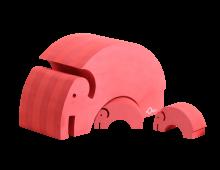 TOYS_Bobles_mor_barn_elefant_elephant_red_PNG8