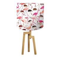 INTERIORS_Flamingos_Hedgehogs_Lampshade_Alice_British_Library