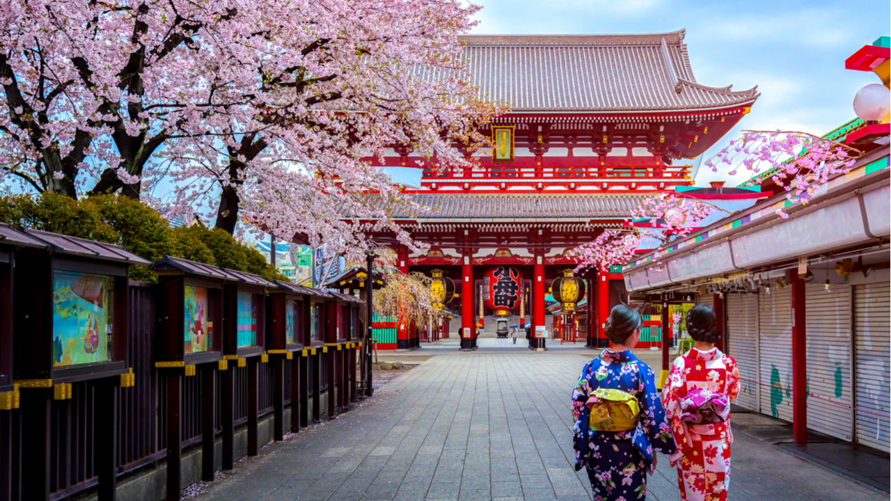 9 Day fully-escorted tour of Japan