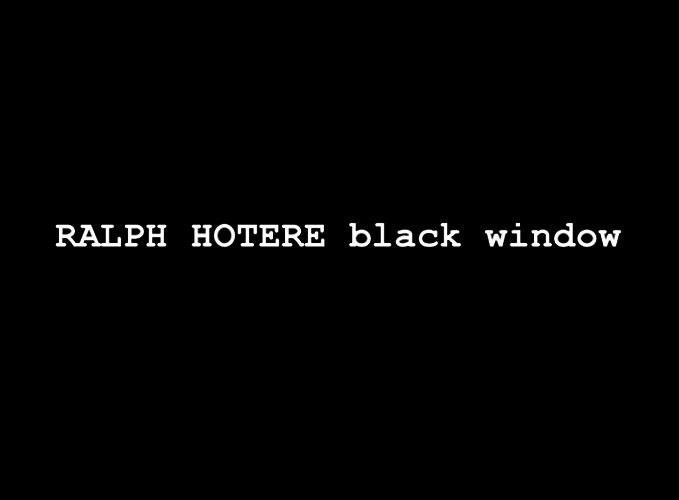 Nadene Milne Gallery Ralph Hotere Black Window