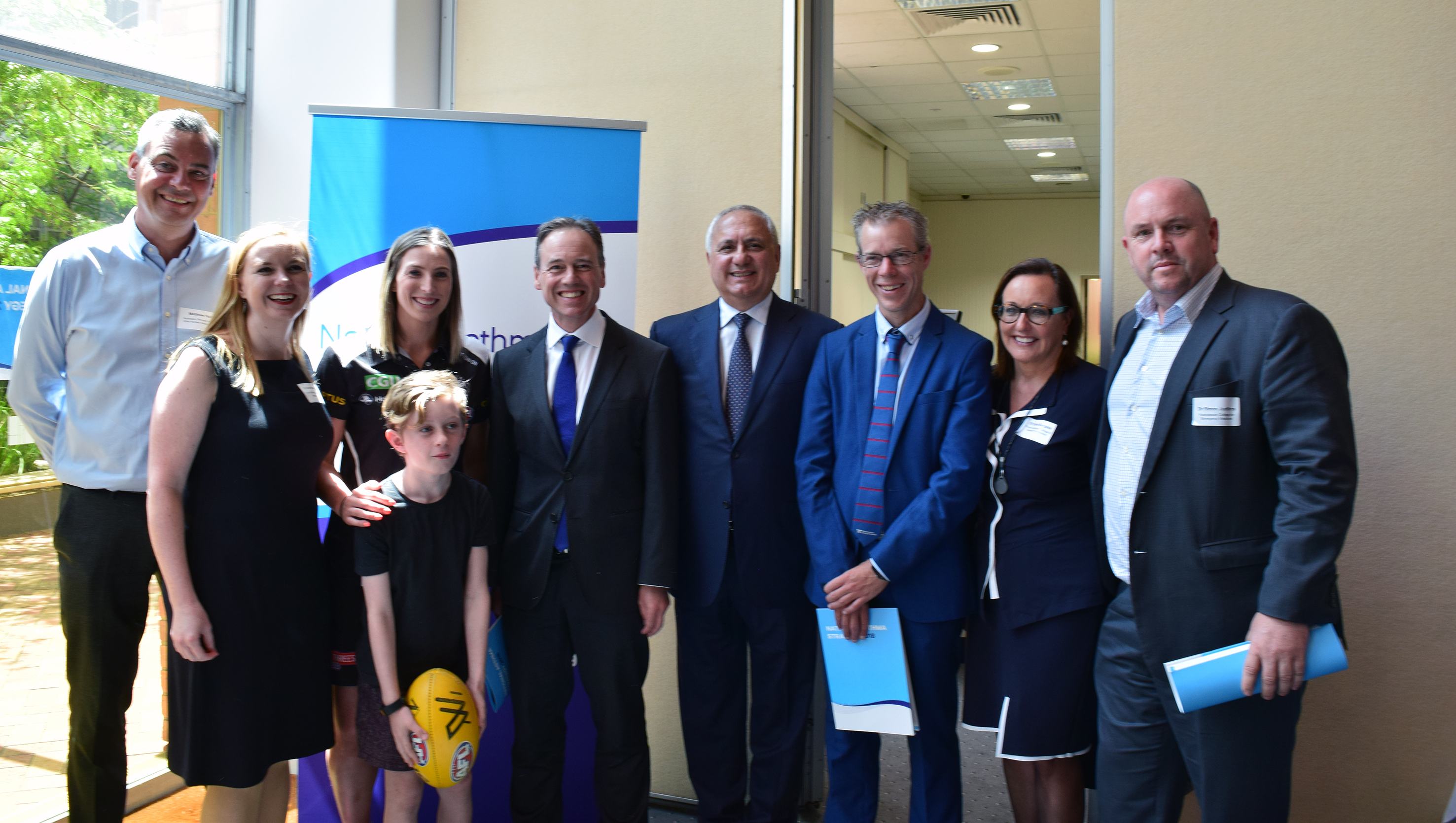 National Asthma Strategy launch group photo