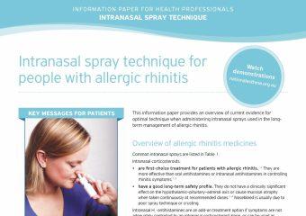 Intranasal Spray Technique HP